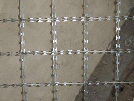 Welded Razor Wire Mesh Gives A High Security Protective Fence